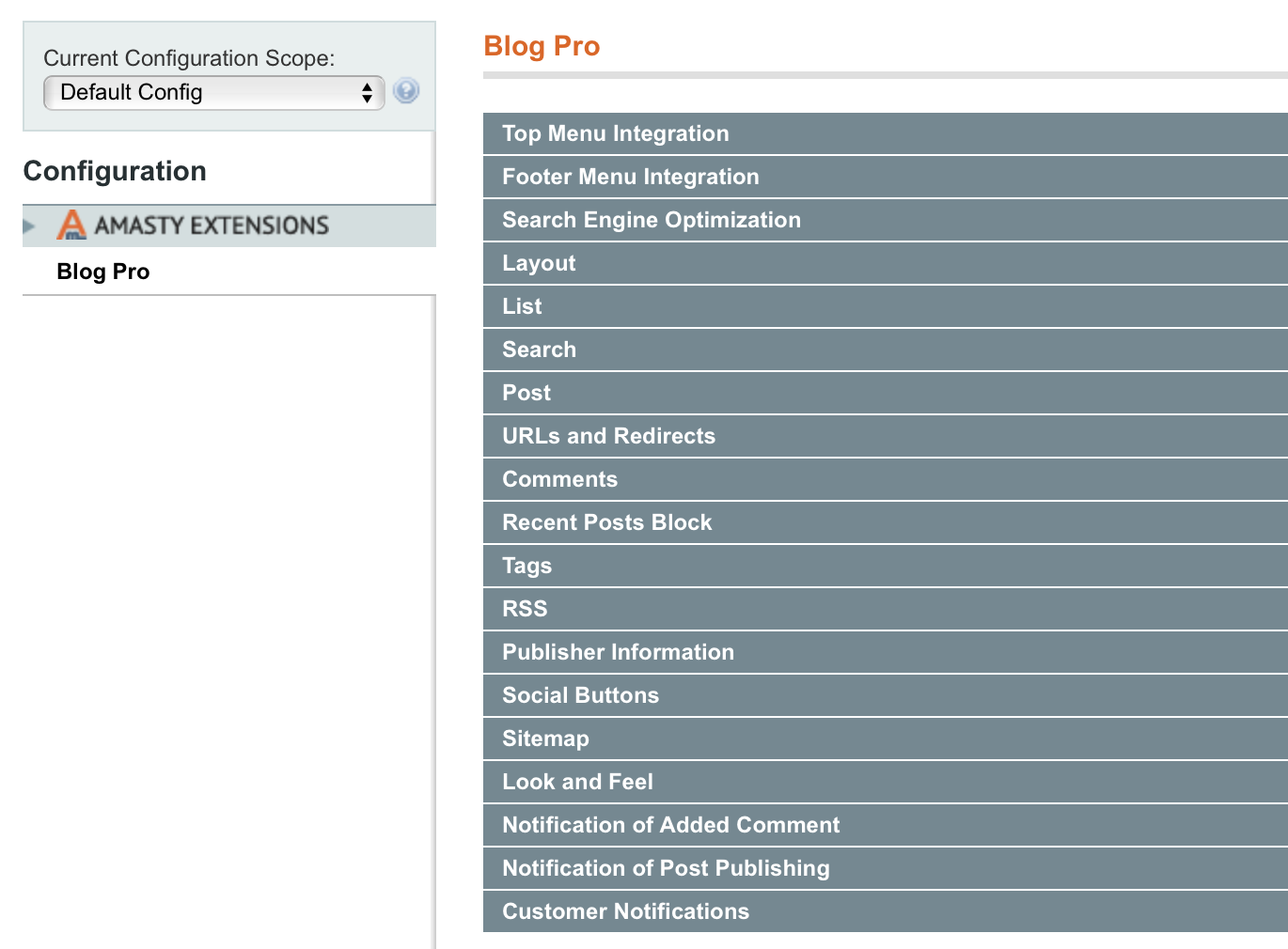 Amasty Full Page Cache guide for blog pro [amasty extensions faq]