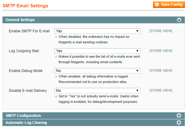 Guide for SMTP Email Settings [Amasty Extensions FAQ]
