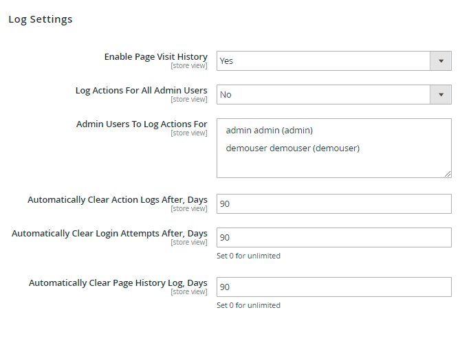 Guide for Admin Actions Log for Magento 2 [Amasty Extensions