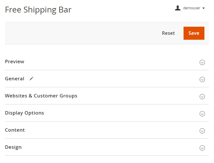 Guide for Free Shipping Bar for Magento 2 [Amasty Extensions