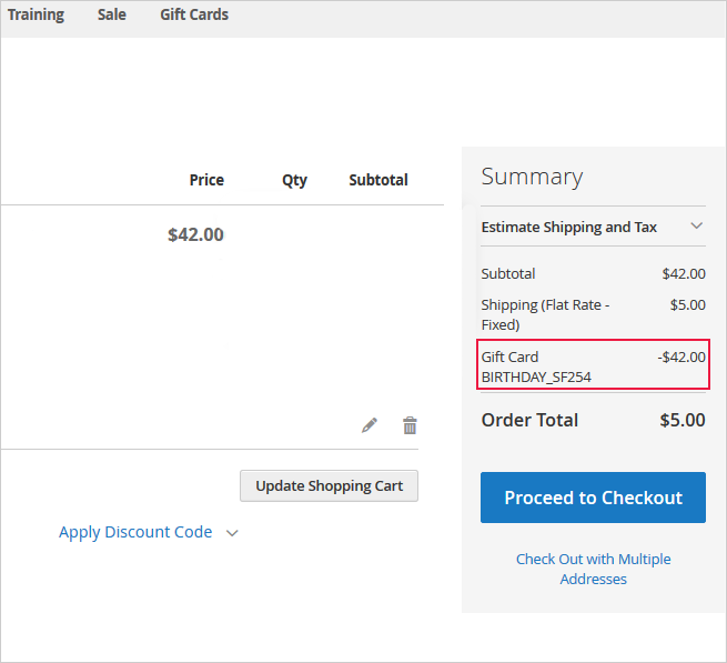 Find out how to install the Gift Card extension for Magento 2 via Composer.