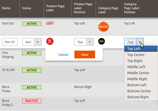 product labels for magento 2 amasty extensions faq
