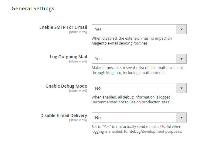 Guide for SMTP Email Settings for Magento 2 [Amasty