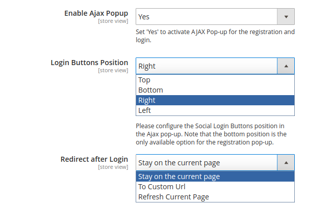 Guide for Social Login for Magento 2 [Amasty Extensions FAQ]
