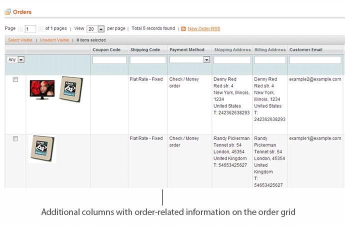 magento order grid