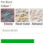 magento color picker extension example on product page
