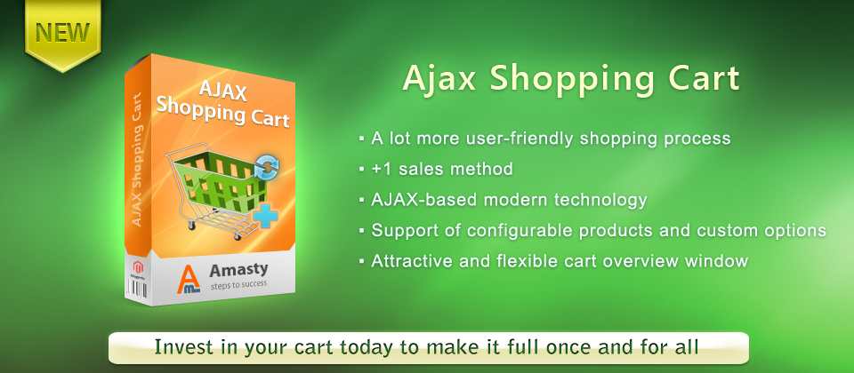 Magento AJAX Shopping Cart