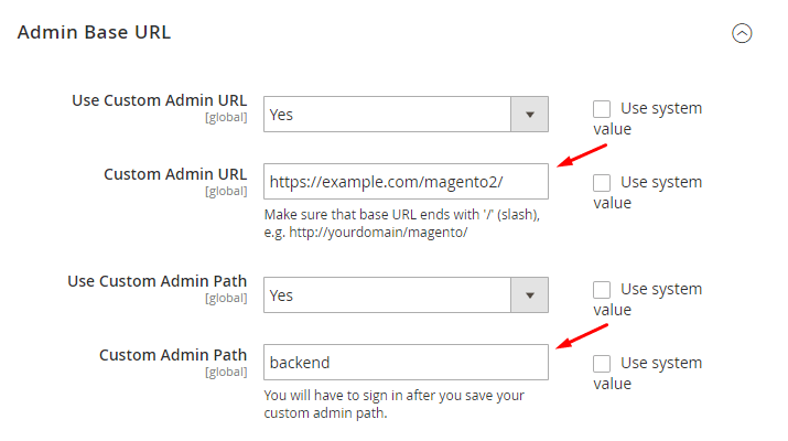 admin-path-url-magento