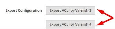 export-configuration