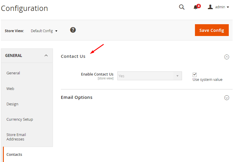 enable-contact-us-magento