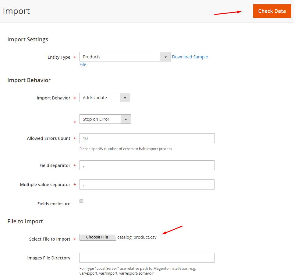 import-csv-file-magento