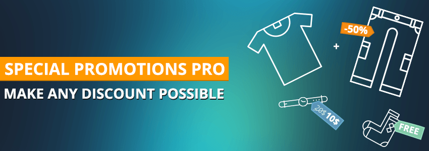 Special promotions pro: make any discount possible