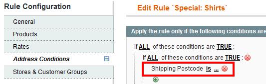 Magento Shipping Rules - Amasty