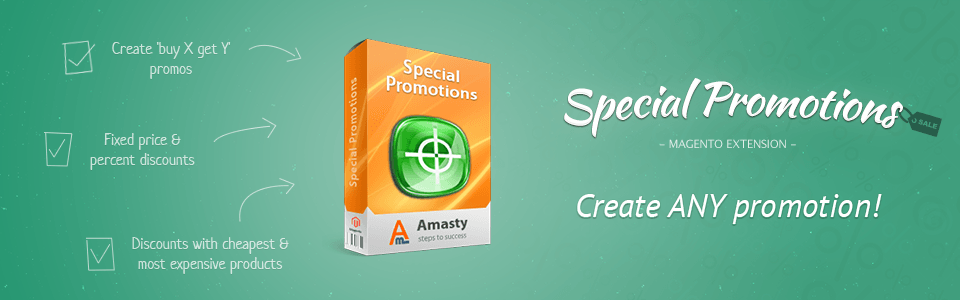 Use your customer data to create amazing promotions!